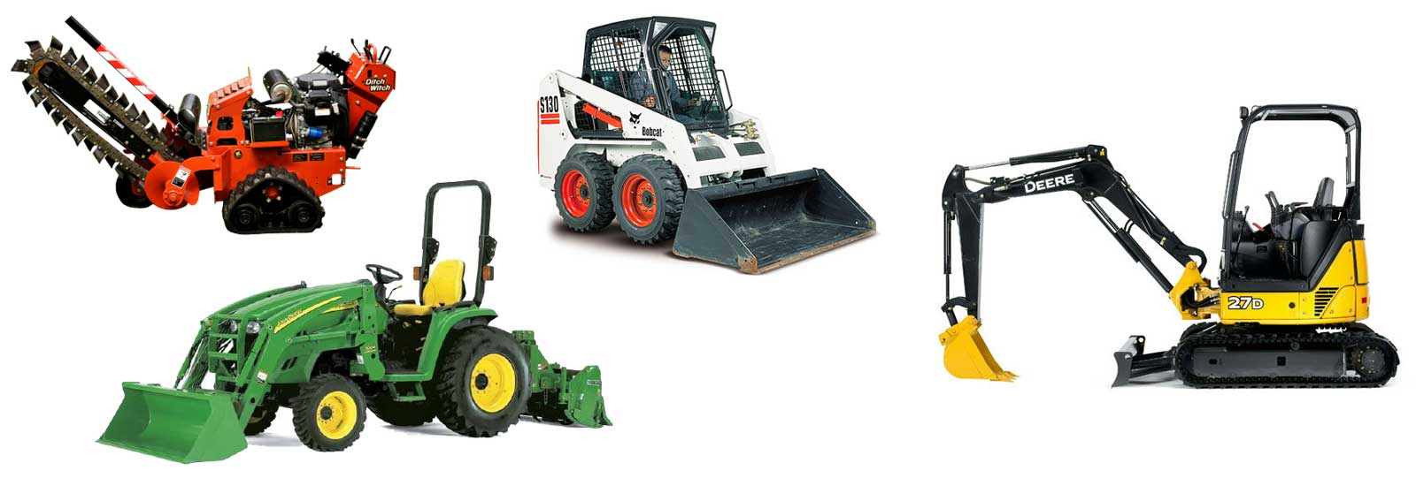 Equipment Rentals in Northeast Mississippi and Western Alabama